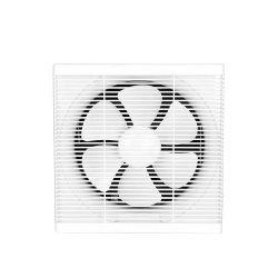 Ce SAA 6 8 pouces 220 V plastique carré haute puissance Silencieux mur obturateur domestique salle de bains cuisine ventilateur d'évacuation