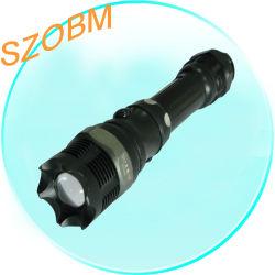 CREE Q3 étanche portable rechargeable Lampe torche LED tactique Focus