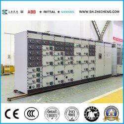 Central Cámara de Distribución Eléctrica Mns de bajo Voltaje Armario de Disyuntores Uso Industrial