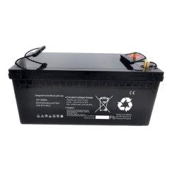 Llevar el sello Acided Batería 12V 200Ah para UPS Batería / Pila de Energía Solar