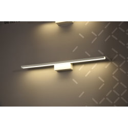 Adaptado de la fábrica de espejo de pared LED de iluminación delantera aplique de luz para cuarto de baño