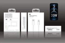 Telefone de 5g original USB-C ao cabo de iluminação para iPhone12/12 PRO/12 PRO Max Carga Rápida