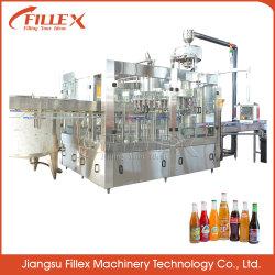 Milch-Tee-Getränkefüllender Produktionszweig /Bottle-Füllmaschine für Wein-/Saft-Produktionszweig Flaschen-füllende Verpackmaschine