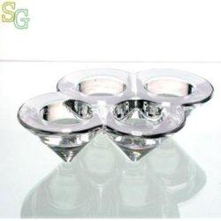 Supporto di candela di vetro (SG-C8289)