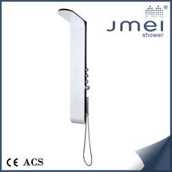 Novo design do painel de duche em ligas de alumínio (JM-AL101) com mais funções para o Mercado Europeu