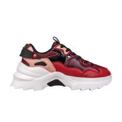 Heißer Verkaufs-bequemer Turnschuh bereift Sport-Schuhe für Mädchen-Schlange PU-beiläufige Schuhe