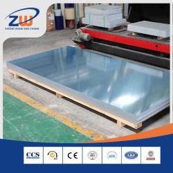 Cina produzione CCS DNV grado marino 5083/5052/5754 H32 con nero Alluminio legato/alluminio foglio/piastra per pannello/Diamante/battistrada/goffrato