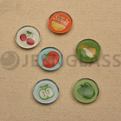 Designs personalizados Ímanes para frigorífico de vidro, a promoção de produtos, suprimentos de terceiros, Home Suprimentos, decoração de cozinha