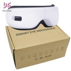 Drahtloser nachladbarer Schwingung-intelligenter Augemassager-musikalischer Heizungs-elektrische Augen-Sorgfalt-Einheit-AugeMassager für persönliche Sorgfalt