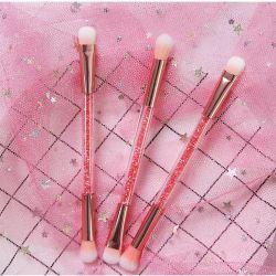 Fairy Rainbow Crytal Pega Transparente Makeup escovas de carvão em pó Cosméticos Corar Escova de contorno de olhos cor de rosa Makeup Brush Ferramentas de beleza