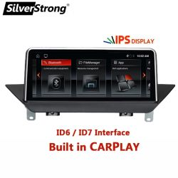 BMW X1 E84 2009-2012 차량용 라디오용 Android 10 CarPlay 스테레오 멀티미디어 DVD 플레이어 Autoradio 터치 스크린 GPS Navi