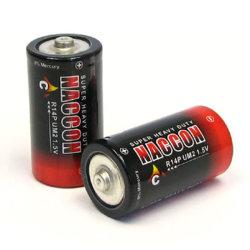 2020 FORNECIMENTO FÁBRICA Non-Rechargeable 280min R14 Um2 1,5v Tamanho C Bateria Seca Primário para Torch