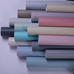 China Factory Plain Wallpaper Home decoração Matt Wallpaper Cor sólida Papel de parede 3D