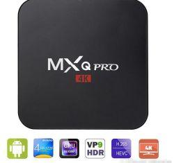 2018 Nouvelle arrivée Quick Play TV Box Android 7.1 Amlogic Kodi 1000m LAN S905W Mxq PRO TV Box