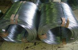Grado Superior de hierro galvanizado de alta calidad alambre vinculante