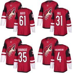 Arizona Coyotes Adin Hill Louis Domingue Dysin Mayo camisetas Hockey