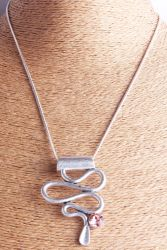Tegenhanger van de Manier van de Halsband van de Manier van de Juwelen van de Manier van de Halsband van de Tegenhanger van de Ketting van de Slang van de Tegenhanger van de Slang van de manier de Zilveren Antieke Zilveren Lange