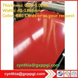 Цвет Pre-Painted PPGI PPGL с покрытием из оцинкованной стали листов в катушек зажигания