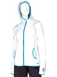 Newest femmes Sport blanc Micro Fleece Hoodies