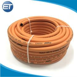 도매 유연한 고압 PVC LPG 가스를 위한 고무 땋는 압축 공기를 넣은 공기 호스 관