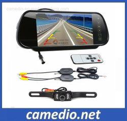 7 Zoll-drahtloses Auto-Kamerarearview-Spiegel-Monitor-Parken-System