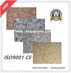 敷石または床タイルまたは壁のクラッディングのための白または灰色か黒くまたは赤くまたはピンクまたはベージュ大理石の花こう岩