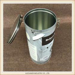 De nieuwe Blikken van het Tin van de Koffie van het Metaal Vierkante voor Blikken van het Tin van de Koffie van de Doos van het Tin van het Voedsel van de Premie van de Rang van het Voedsel de Verpakkende Vierkante