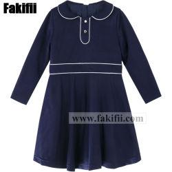 La Nouvelle Angleterre Fashion fille robe de fête de l'école uniforme Bébé/Enfants d'usine de vêtements pour enfants uniforme