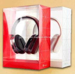 Neuer Entwurfs-Zoll gedrucktes Plastikpaket für Kopfhörer (Belüftung-Kasten)