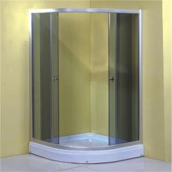 Salle de bains en aluminium salle de douche coulissantes ronde Chine 80