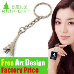 Factory Direct Mode multifonctionnel du cuir/PVC/porte-clés en métal Lettres