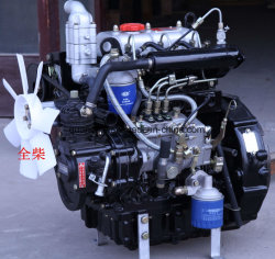 3 Cylindres refroidis par eau Quanchai 4cylindres moteur Diesel pour le tracteur