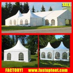 Квадратные формы беседка навес палатки, 3X3m с прозрачной Windows