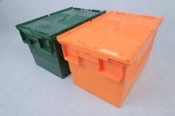 62L Movimiento Tote de plástico encajables de verificación para el almacenamiento Transporte