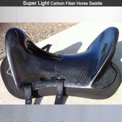 Super leichter Kohlenstoff-Faser-Pferden-Sattel für Pferden-Verdrahtung mit Pferden-westlichem Sattel