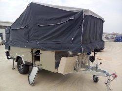 Rongcheng Longhe populärer australischer Wohnmobil-Schlussteil mit 2 faltenden Betten