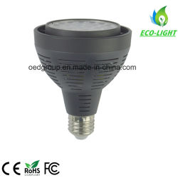 화이트 PAR30 전구 25W LED PAR30 E27 소켓 LED PAR30 E27 G12, Shenzhen에서 70W 교체