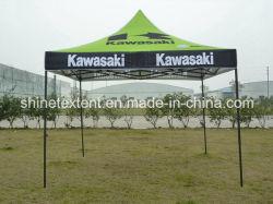 Водонепроницаемый беседка Палатка для отображения всплывающего окна прямой ногой для мгновенного палатку навеса