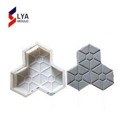 セメントのための型を舗装するプラスチックはペーバーの石造りの作成をタイルを張る