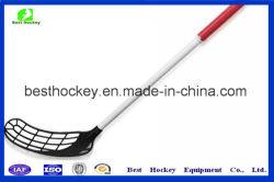 합성 고위와 연소한 Floorball Unihockey Innebandy 하키 채
