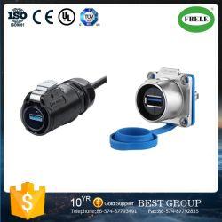 Meilleur Cnlinko Multipurpose Montage panneau IP67 Connecteur USB