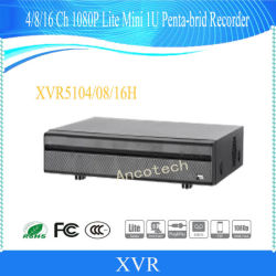 8/16Dahua CH Penta-Brid 4K Mini 1U DVR (XVR5108H-4KL-X-8P, XVR5116H-4KL-X-8P)