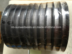 Flexibles Corrugated Graphite Tape mit Self Adhesive