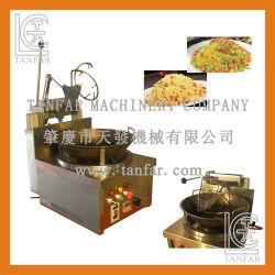 Bowl-Rotating arroz Frier automático de gas de cocina