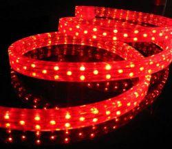 LED à 2 fils de couleur bleue de la corde ronde de la lumière pour la décoration