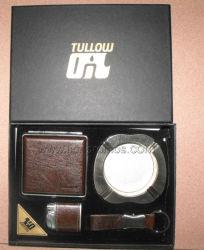 Aansteker Van de Bedrijfs olie van Tullow de Uitvoerende van de Gift, Asbakje, de Reeks van de Doos Cigarret