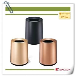 Bakken van het Afval van de Zaal van het Aluminium van de Kegel van de Laag van de luxe de Dubbele met BinnenBak