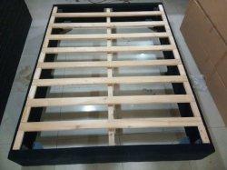 Boîte de rabattement de package de base de lit en bois massif à bon marché