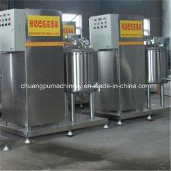 Mini pasteurizador de leche el equipo de procesamiento de productos lácteos de la máquina