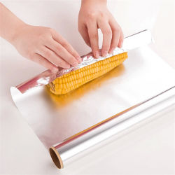 Cuisine L'emballage alimentaire Stretch Film contenant des ménages en aluminium